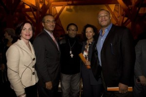 Wexner Award given to Spike Lee with Sherrie Gelden, Mayor Michael B. Coleman and my husband Byron.