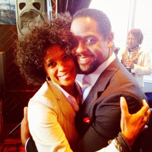 "Blair Underwood reuniting with long time friend, Broadway ""Mowtown"" lead Marva Hicks"