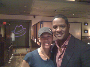 With actor/producer Blair Underwood 2010