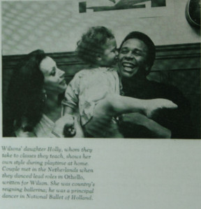 This photo of my parents and I was taken from EBONY MAGAZINE, 1969.