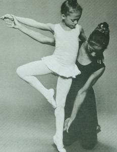 Me posing with Jackie Curry (principal dancer with The Dance Theatre of Boston).