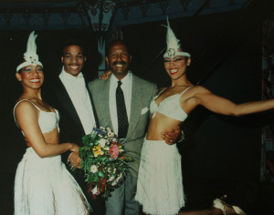 A NIGHT AT THE COTTON CLUB, a hit show in Amsterdam with three of his dancers. He later hired me as a featured dancer in that show and I also took over as dance captain.