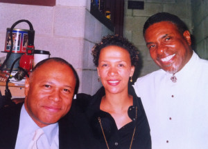 With Byron and film and stage actor: the exuberant Keith David. 2011